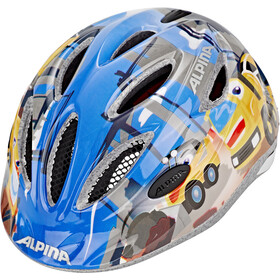 Alpina Gamma 2.0 Lapset Pyöräilykypärä , sininen/monivärinen